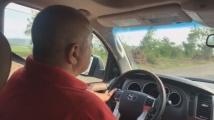 Борисов отново с джипа, провери ремонта на стария път София - Бургас