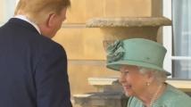 Елизабет II прие Доналд Тръмп