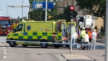 Взрив разтърси шведски град. Има ранени