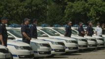 Областните дирекции на МВР от вътрешността на страната се сдобиха с 346 нови автомобили