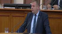 Каракачанов: Няма как Борисов да преговаря със САЩ за изтребителите