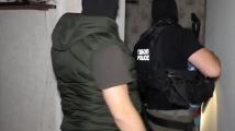 Вижте акцията на ГДБОП срещу групата за трафик на мигранти
