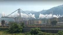 Взривиха убийствения мост до Генуа