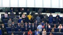 Евродепутати от Партията на Брекзит обърнаха гръб на химна на ЕС