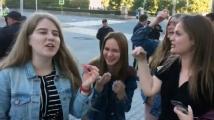 Момиче се хвърли под кортежа на Владимир Путин в Екатеринбург