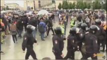 Москва: Арести по време на протести