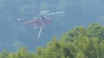 Трети ден продължават пожарите на гръцкия остров Евбея