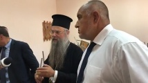 Борисов отново на джипа, посети Пловдивската духовна семинария