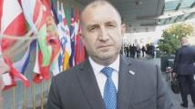 Румен Радев: Трябва да помним не само ужасите на войната, но и причините, за да не повторим грешките