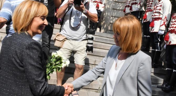 Манолова и Фандъкова отбелязаха заедно Съединението