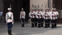 Тържествена смяна на караула пред Президентството