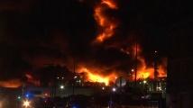 Пожарът в химическия завод в Руан е изгасен