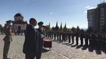 Бойко Борисов присъства на полагането на военна клетва във Велико Търново