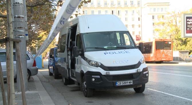 Засилени мерки за сигурност в центъра на София