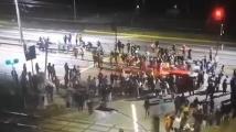 Шофьор уби бебе и протестиращ в Чили