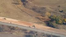 Борисов инспектира от въздуха новото трасе от българския участък до Ниш