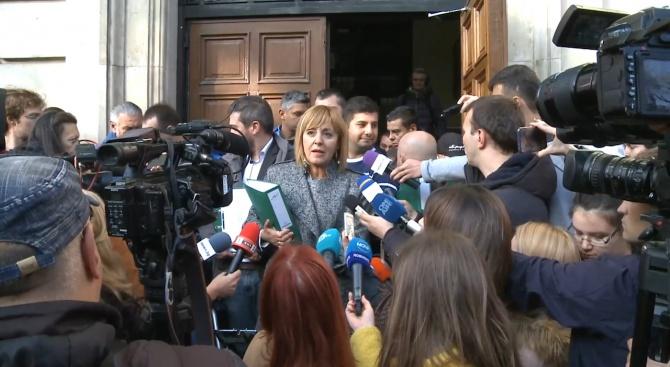 Манолова: Не трябва да остане ненаказана тази изборна манипулация