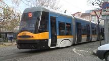 Нов трамвай тръгва в София