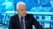 Сидеров се завърна в БНТ: Станем ли фронт срещу Освободителката ни, ще платим жестока цена