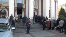 България се прощава със Стефан Данаилов, хиляди дойдоха да си кажат последно сбогом с него