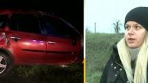 Глобиха млада жена, ранена при катастрофа с глиган на магистрала Тракия