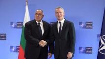Започна срещата на  Бойко Борисов с генералния секретар на НАТО Йенс Столтенберг