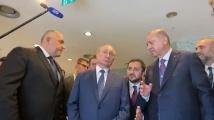 Борисов рамо до рамо с Ердоган, Путин и Вучич - откриват Турски поток