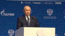 Турски поток е уникална газопроводна система, изтъкна Владимир Путин