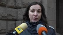 Двама служители на МВР са ударени с метални тръби на протеста пред МРРБ